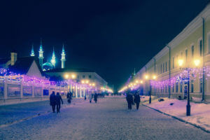 kazan zima winter