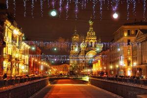 Новогодний Санкт-Петербург 2019 из Иваново
