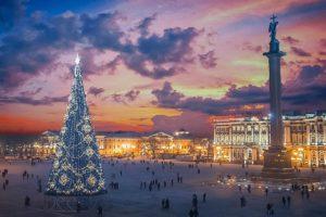 Новогодние каникулы 2020 в Санкт-Петербурге