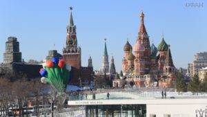 Москва. Весна в большом городе.