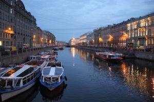 Мелодия белых ночей в Санкт-Петербурге