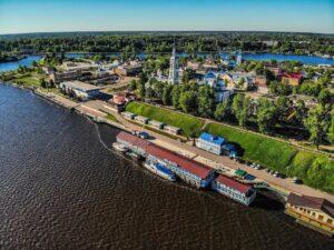 Тур из Иваново Кинешма+Плёс+теплоход 6 часов «Волжская палитра»