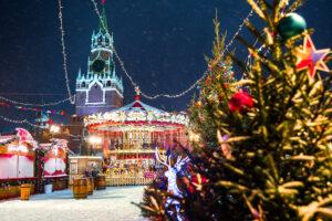 Игрушек новогоднее мерцание. Москва и Клин